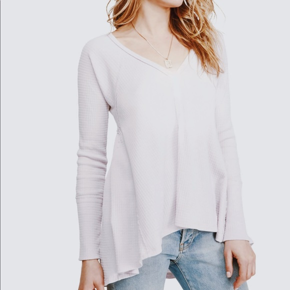 9e241658d Free People Tops | Citrine Textured Long Sleeve Top M Nwt | Poshmark